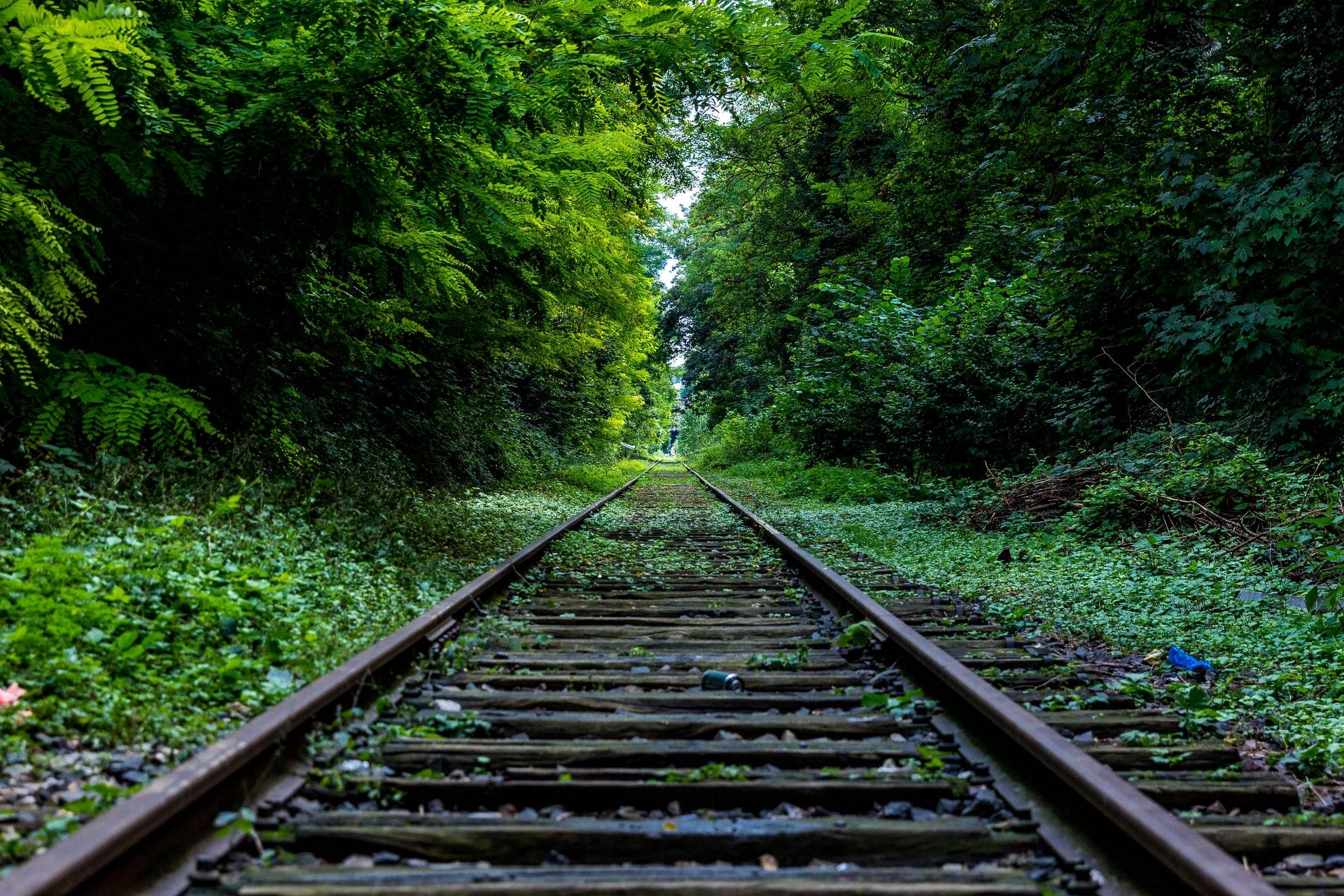 eine Einsame Zugstrecke